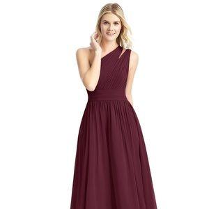 Azazie Formal Dress Molly Cabernet